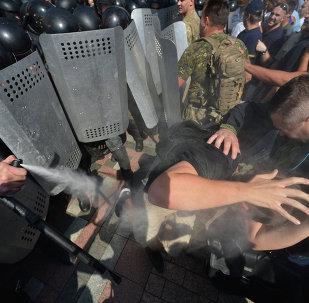 Enfrentamientos en Kiev