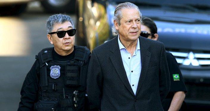 José Dirceu, ex jefe del Gabinete Civil de la Presidencia de la República de Brasil