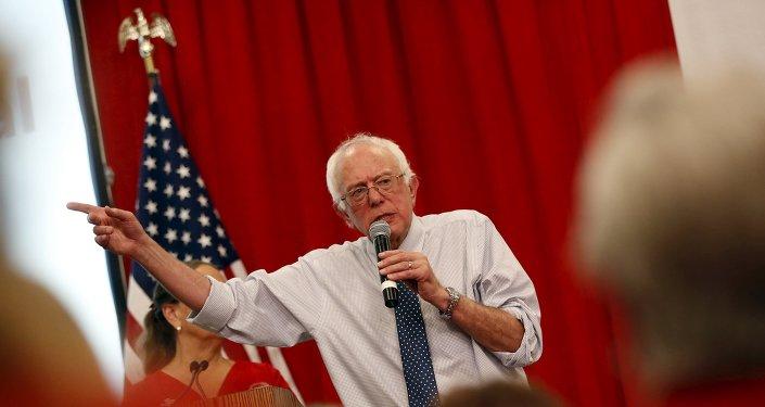Bernie Sanders, candidato Demócrata para Presidente de los Estados Unidos