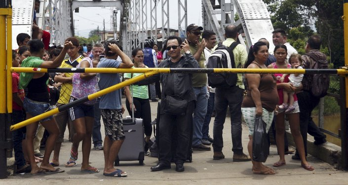 EE. UU. da US $ 18,5 millones a Colombia para refugiados venezolanos