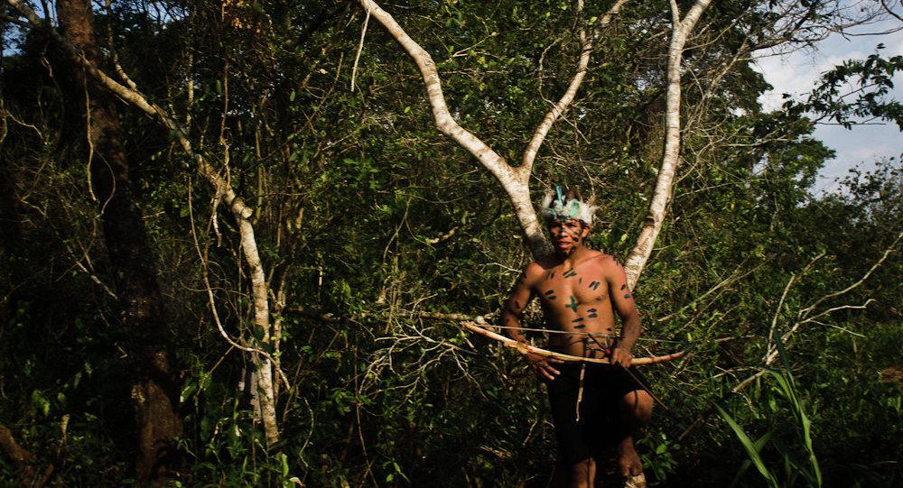 Guaraní-kaiowá en el estado de Matto Grosso do Sul
