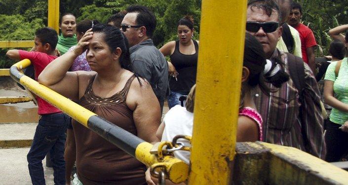 La frontera entre Venezuela y Colombia