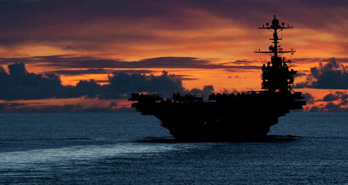 Portaviones estadounidense USS George Washington