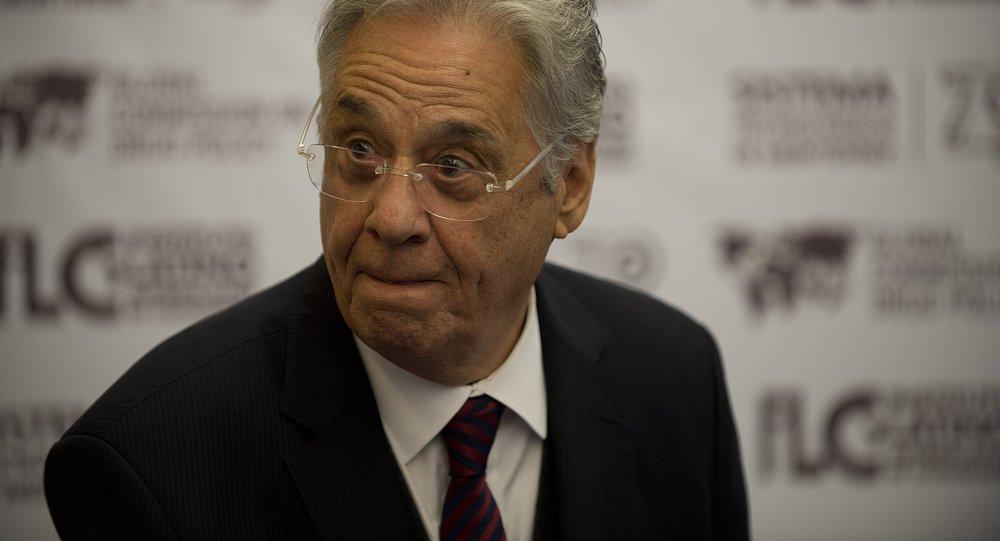 Fernando Henrique Cardoso, expresidente de Brasil