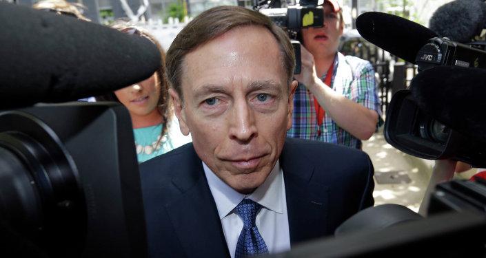 David Petraeus, antiguo director de la CIA y excomandante de las fuerzas estadounidenses en Afganistán e Irak