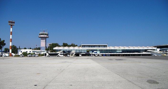 Un aeropuerto en Grecia