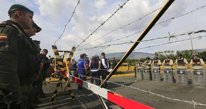 Situación en la frontera entre Venezuela y Colombia (archivo)