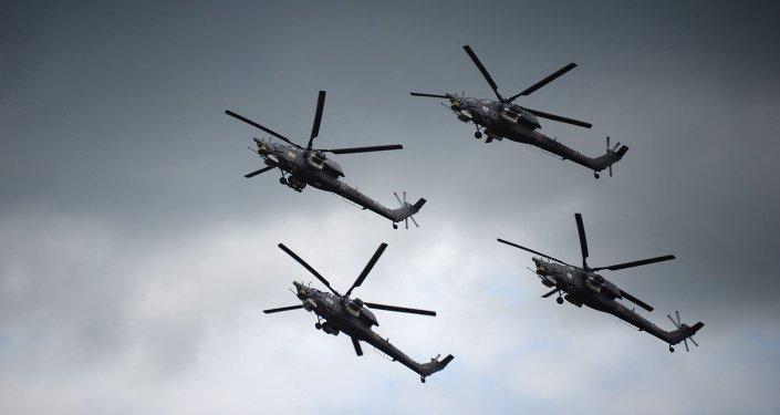 Helicópteros Mi-28N Cazador Nocturno