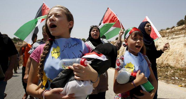 Protesta en Nabi Saleh