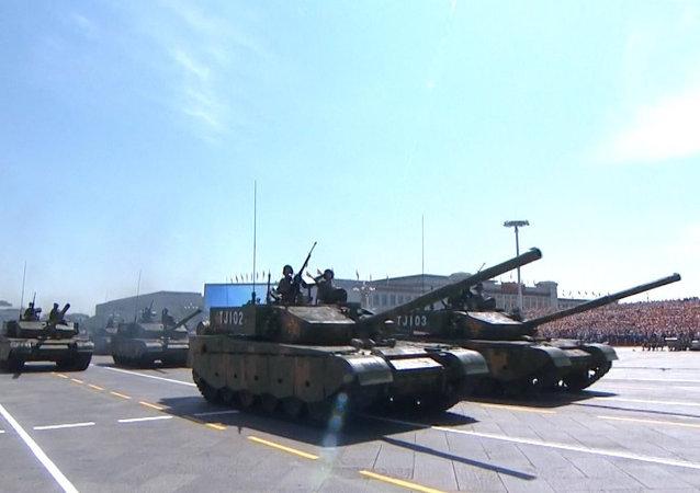 Pekín muestra lo ultimo en su desfile militar