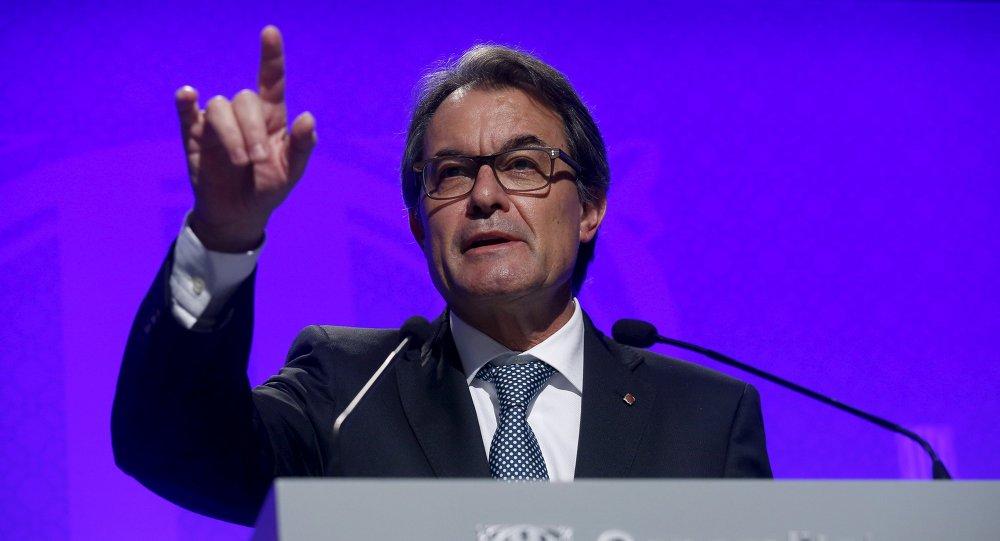 Artur Mas, presidente de Cataluña