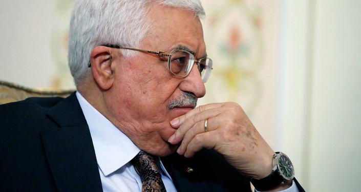 Mahmud Abás, presidente palestino