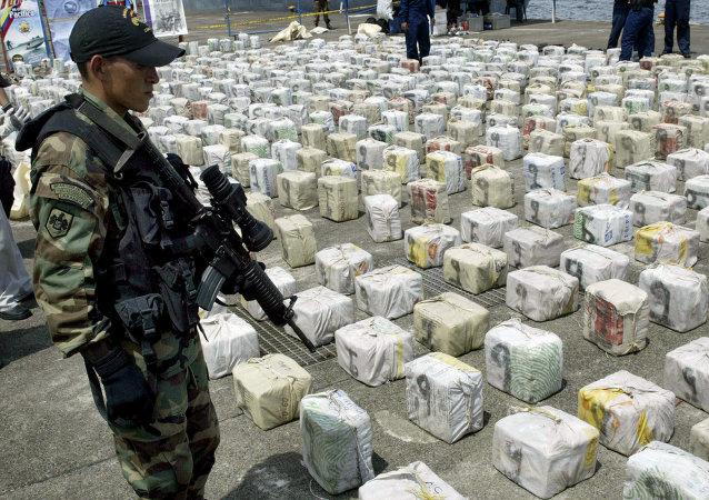 Lucha contra narcotráfico en Colombia (Archivo)