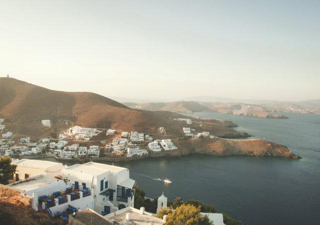 Isla de Astipalea en Grecia