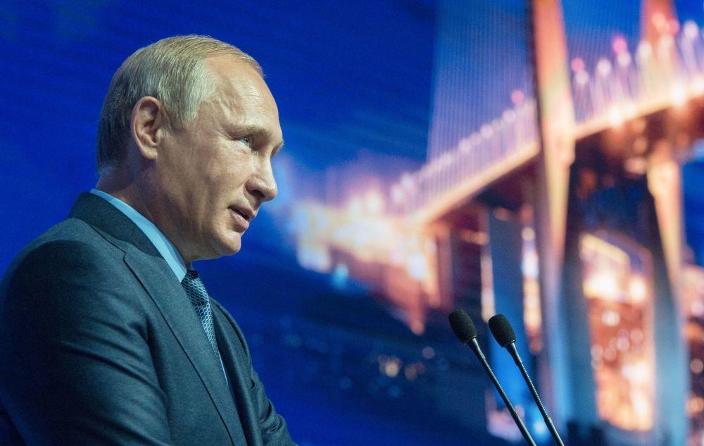Vladímir Putin en el Foro Económico Oriental