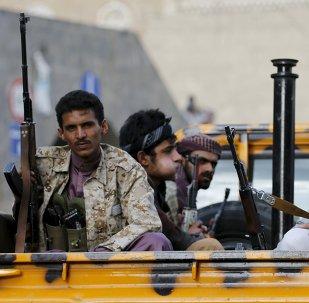 Los rebeldes hutíes en Yemen (archivo)