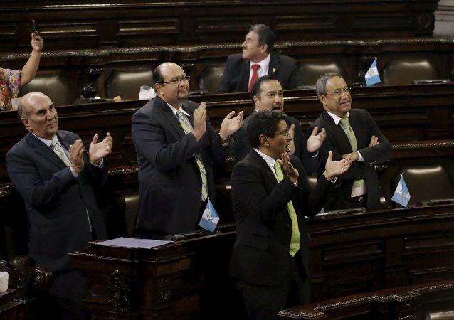 Congreso de Guatemala decidió retirar inmunidad del presidente Otto Pérez Molina, el 1 de septiembre, 2015