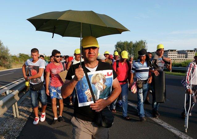Austria y Alemania dejarán entrar a refugiados procedentes de Hungría