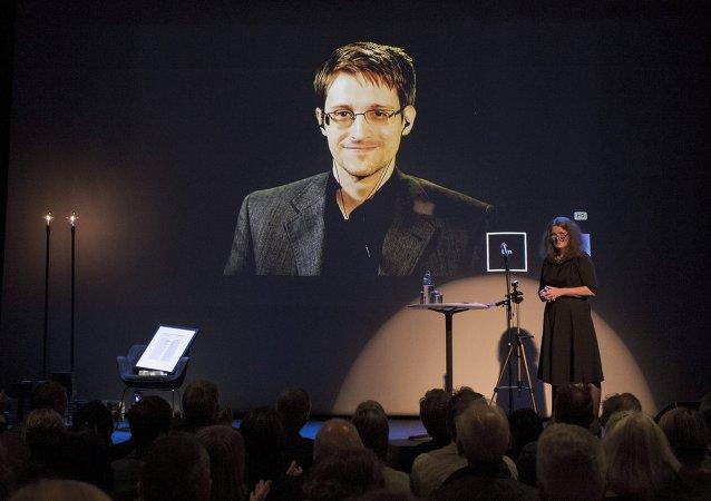 Edward Snowden, exagente de los servicios secretos de EEUU