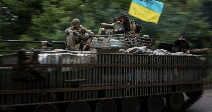 Soldados del Ejercito de Ucrania (archivo)