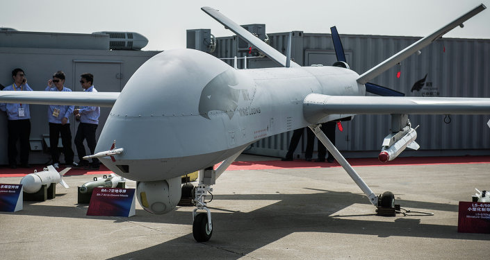 Un dron chino