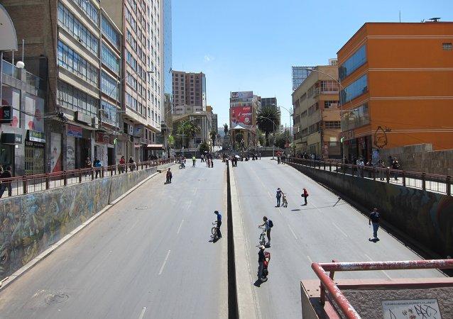 El Día del Peatón en La Paz, 2011