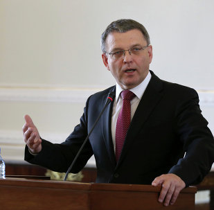 El canciller checo, Lubomír Zaorálek