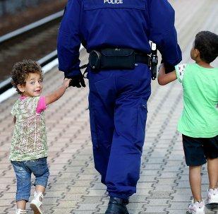 Niños refugiados (imagen referencial)