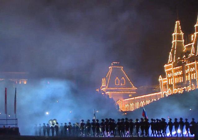 Festival de bandas militares arranca en la Plaza Roja