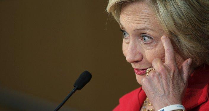 Hillary Clinton, exsecretaria de Estado de EEUU