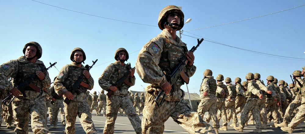 Soldados armenios (imagen referencial)