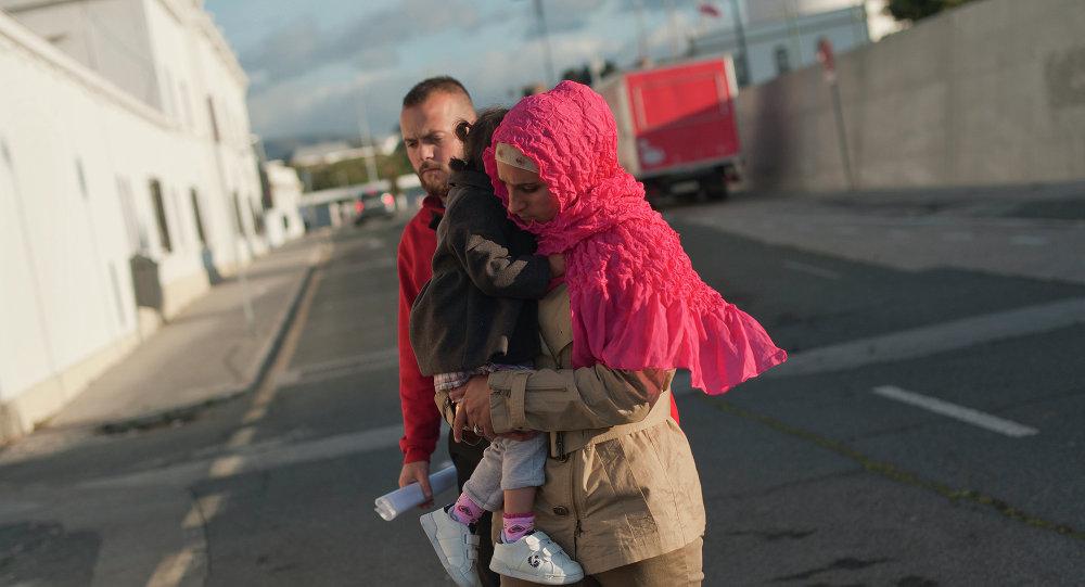 Refugiados sirios en Málaga