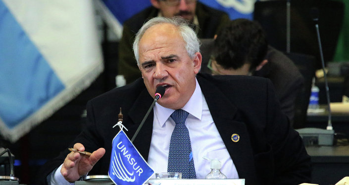 Ernesto Samper, secretario general de Unasur