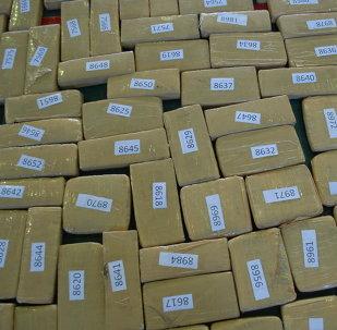 Marihuana en cajas (archivo)