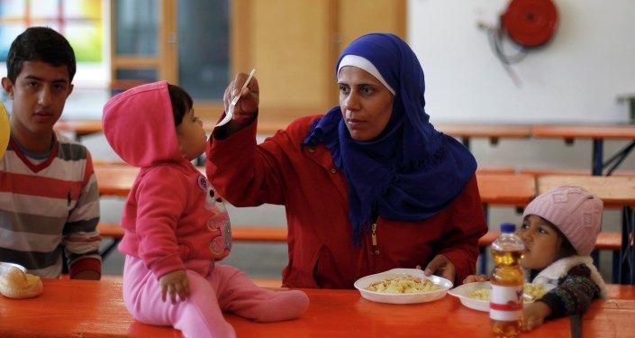 Migrantes en Alemania