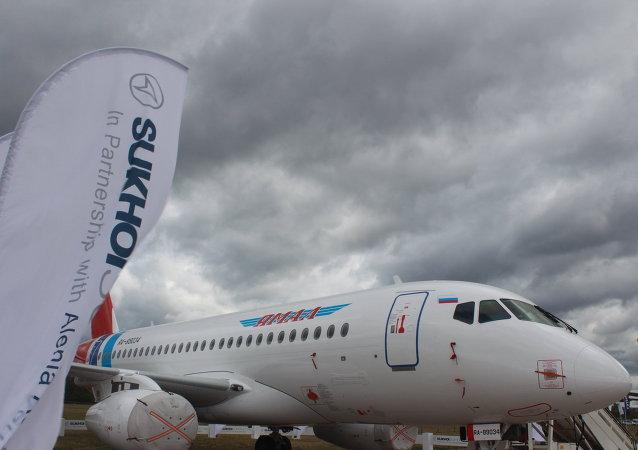 Sukhoi Superjet-100 (archivo)