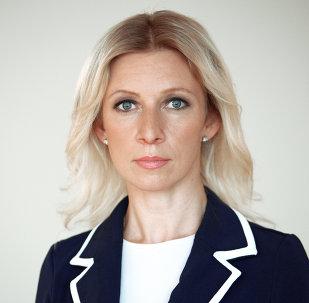 Portavoz del Ministerio de Exteriores de Rusia, María Zajárova