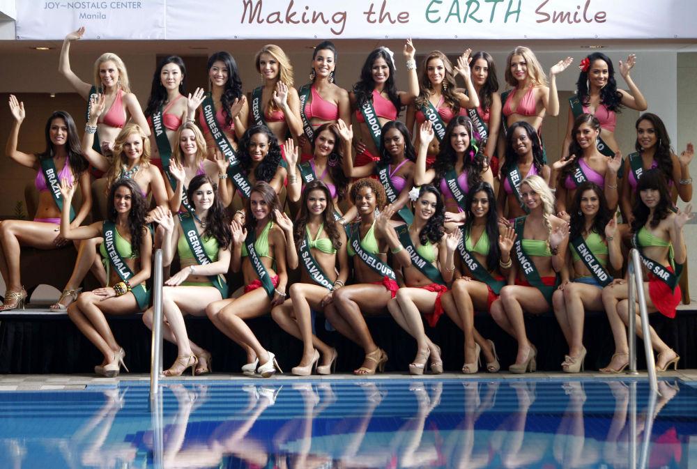 Pretendientes a la corona Miss Tierra 2011