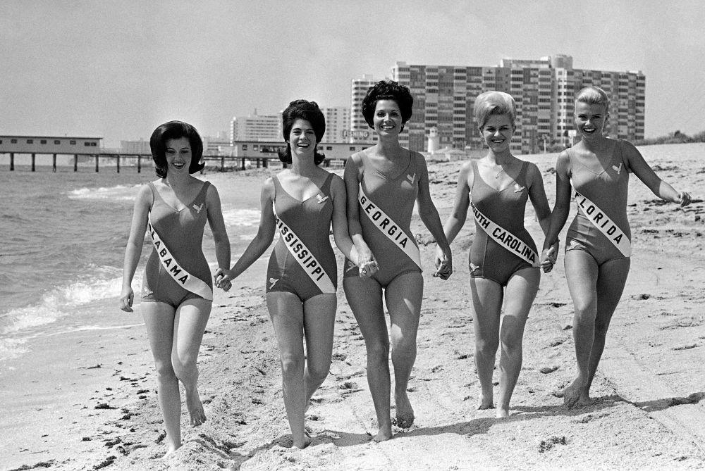Cómo se veían las participantes del concurso de belleza Miss EEUU de 1966