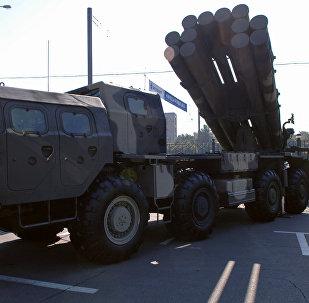 Lanzacohetes múltiple ruso BM-30 Smerch