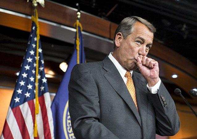 John Boehner, expresidente de la Cámara de Representantes del Congreso de EEUU