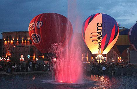 Festival Internacional del Globo en Armenia