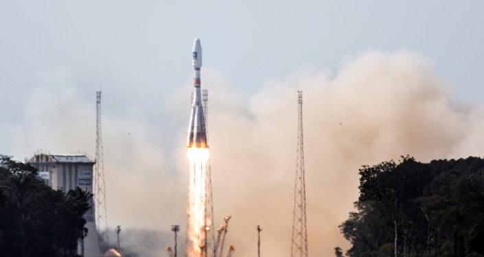 Cohete portador Soyuz-ST (archivo)