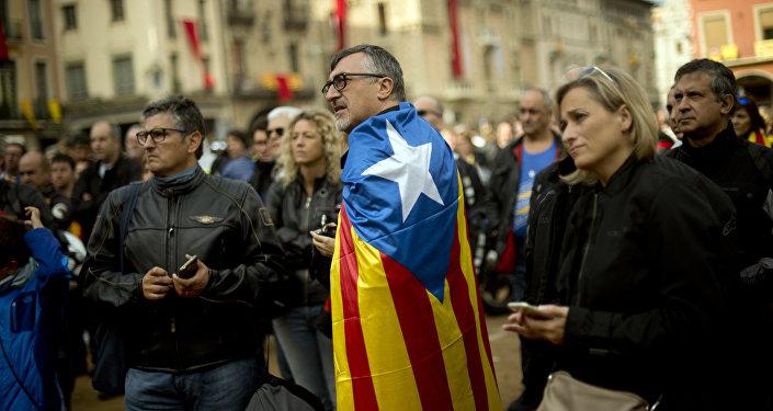 Celebración del Día Nacional de Cataluña, la Diada