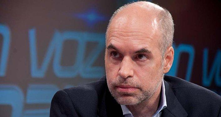 Horacio Rodríguez Larreta, jefe de Gobierno de Buenos Aires