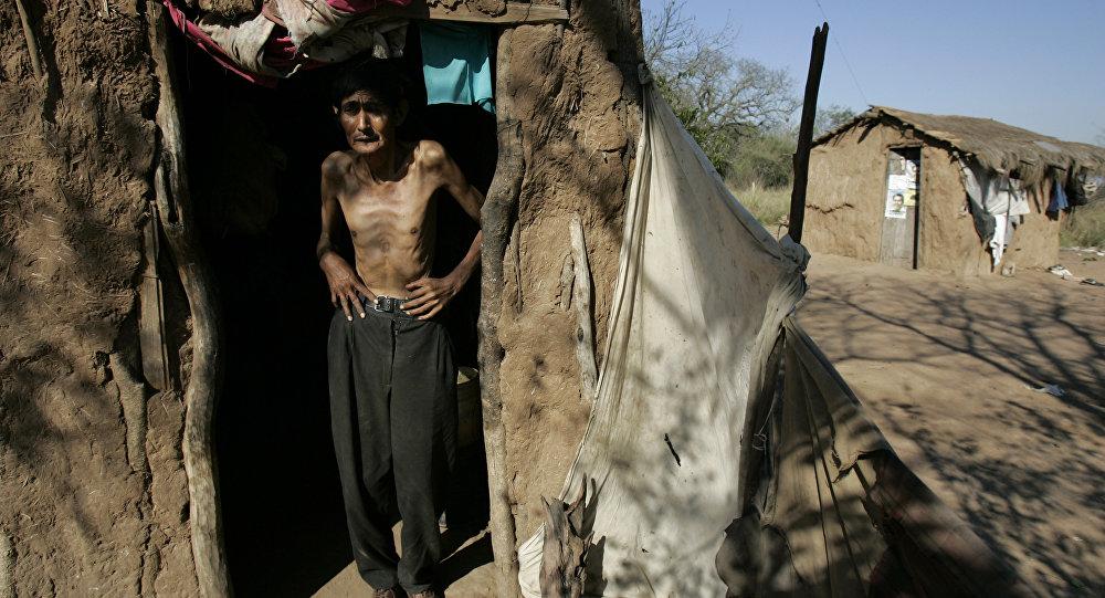 Indígena argentino de 52 años en la provincia de Chaco