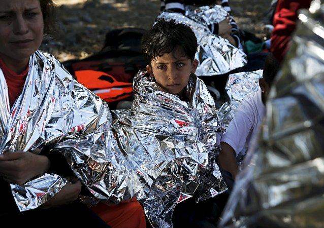 Inmigrantes ilegales en Grecia
