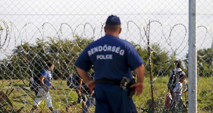 Frontera entre Serbia y Hungría
