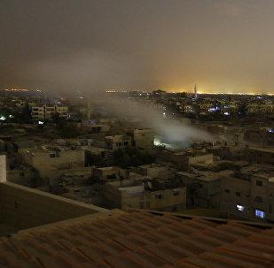 Situación en la ciudad Duma en Siria