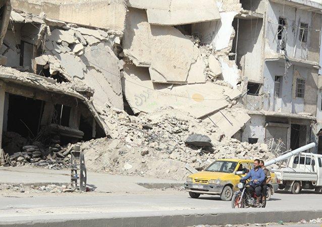 En la provincia siria de Alepo